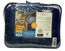 Quility Premium Adult Weighted Blanket & Removable Cover | 1