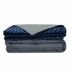 Quility  Premium Weighted Blanket 100% breathable natural co