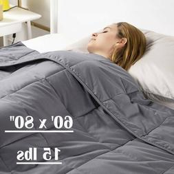 Pressure Weighted Blanket 60'' x 80'' Full Queen Size Reduce