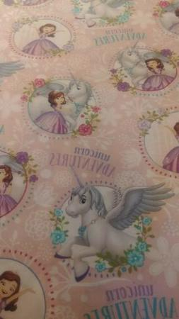 Princess Sofia and Unicorn Adventures weighted blanket 5 lbs