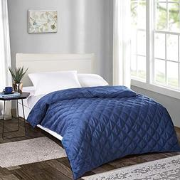 Removable Duvet Cover for Weighted Blanket-60x80 Inches,Quee