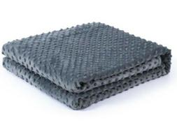 Kpblis Soft Minky Removable Cover for Weighted Blanket Inner