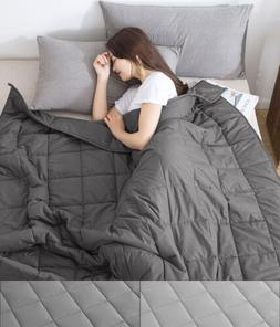 Stress Reducing Weighted Blanket 12lbs, 15lbs, 20lbs Twin, F