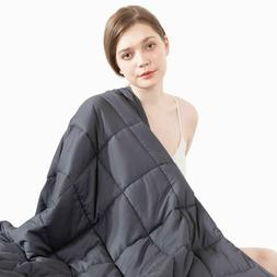 "60"" x80"" Weighted Blanket 20lbs Full Queen Size Reduce Stres"