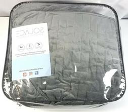 Solace Therapeutic 15 lbs Weighted Blanket with Gray Color D