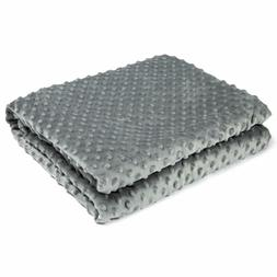 Rcurt Ultral Soft Minky Removable Cover For Weighted Blanket