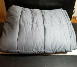 """Amy Garden Weighted Blanket, 15lbs, 48""""x72"""" FREE SHIPPIN"""