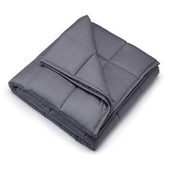 Weighted Blanket 16 lbs, 48''x72'', Twin Size | Heavy Blanke