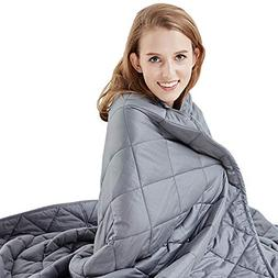 Hypnoser Weighted Blanket 2.0 for Kids and Adults | Dark Gre