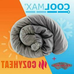 "60""X80"" Weighted Blanket Queen Promote Sleep Reduce Stress W"