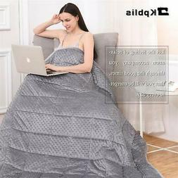 Kpblis Weighted Blanket 7 Layers with Soft & Breathable Fabr
