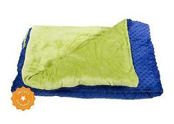 Harkla Adult Weighted Blanket  - Soft and Comfortable Minky