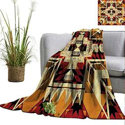 PearlRolan Weighted Blanket Adult Arrow,Native American Insp
