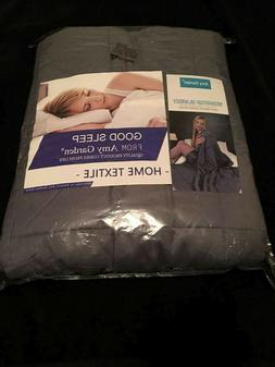 """Weighted Blanket For Adults - 48"""" x 72"""" 12lbs. - Anxiety Bla"""