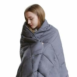 Larvinhom Weighted Blanket For Adults 60''X80'' 20Lbs  Queen