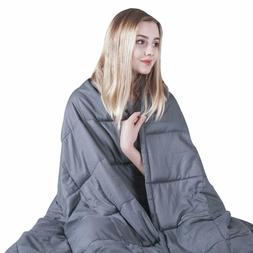 COMHO Weighted Blanket for Adults Cooling Cotton
