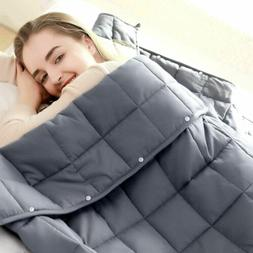 """Weighted Blanket Full Queen Size 60"""" x80"""" Reduce Stress Prom"""