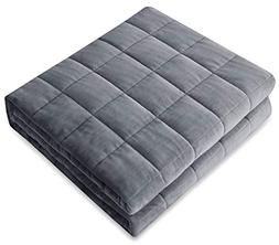 Amy Garden Weighted Blanket   Warm Plush   Great for Winter