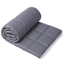 Sivio Weighted Blanket  for Adults | 100% Cotton Material wi