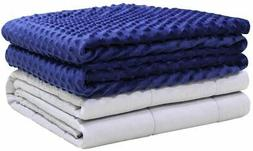 Weighted Idea Weighted Blanket with Removable Twin Cover 20