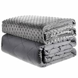 """Adult Weighted Blanket 48 x 72"""" / 60 x 80"""" Queen Twin Full w"""