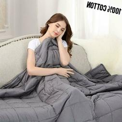 Weighted Blanket Anxiety Adult 40x60 48x72 60x80 78x80 72x84